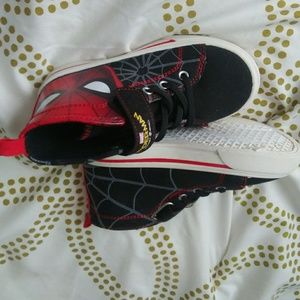 Shoes - Spiderman high tops